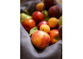 美味新鲜水果的前视图安排_9859163