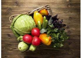 美味新鲜蔬菜的安排_9859189