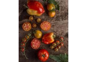 美味的西红柿和辣椒的安排_10109044