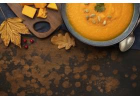 秋天食物南瓜和叶子拷贝空间_9905988