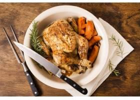 板材顶视图有感恩烤鸡和利器的感恩_9700243
