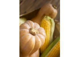 新鲜的秋季蔬菜的安排_9851373