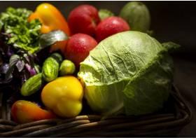 各种各样的美味秋季蔬菜_9851379