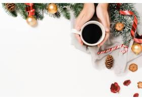 圣诞节传统成分和新年的最小创造性的平整谎_17612934