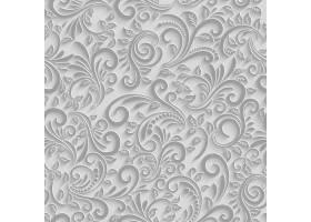 纸3d花卉无缝的样式传染媒介纸背景_11060846