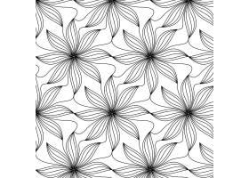 线性平面抽象线条图案_14212774