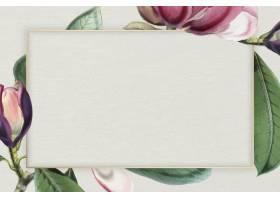 桃红色开花的花卉框架传染媒介_16175397