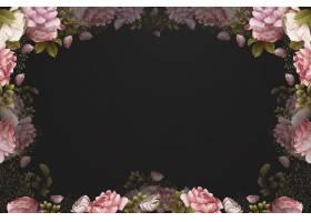 水彩壁纸与玫瑰_11791467