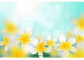 五颜六色的现实花背景_5476721