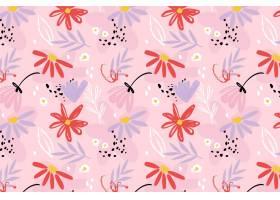 绘了抽象花卉图案_13216220
