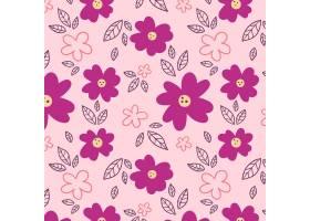 绘了抽象花卉图案_13216222