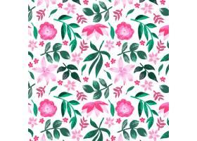 绘了抽象花卉图案_13296295