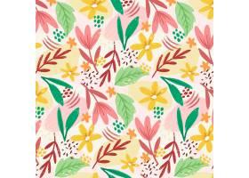 绘了抽象花卉图案_13296296