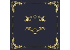 葡萄酒蓬勃装饰装饰品框架传染媒介_3384140