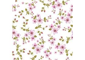 盛开的樱花无缝模式_10120551