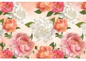 牡丹图案壁纸_3841941