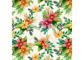 水彩花卉图案_10263194