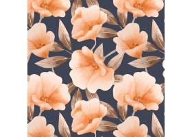 水彩花卉图案_10289200