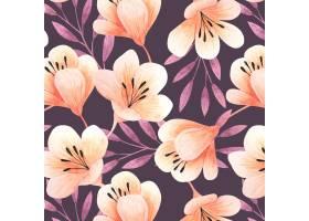 水彩花卉图案_10289205