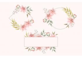 水彩花卉框架包_13641525