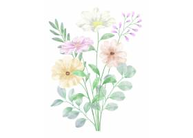 水彩花套_17629266