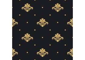 巴洛克式皇家设计壁纸背景设计模式无缝