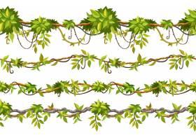 常春藤无缝模式边框莲花分支机构